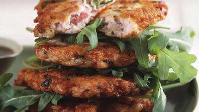 """<a href=""""http://kitchen.nine.com.au/2016/05/17/19/10/chicken-and-ham-patties"""" target=""""_top"""">Chicken and ham patties</a> recipe"""