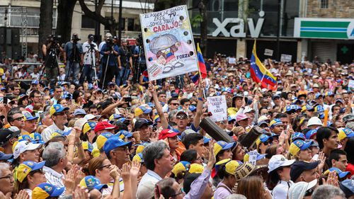 A collapse in the Venezuelan economy has led to a serious crime problem in Caracas.