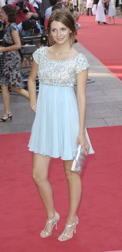 Mischa Barton in Marchesa at the London premiere of <em>Pirates of The Caribbean 2: Dead Man's Chest</em> in 2006