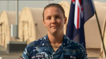 Australian servicemen and women send messages home on Anzac Day