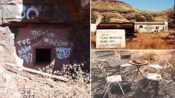Tourists 'dicing with death' to visit WA ghost town