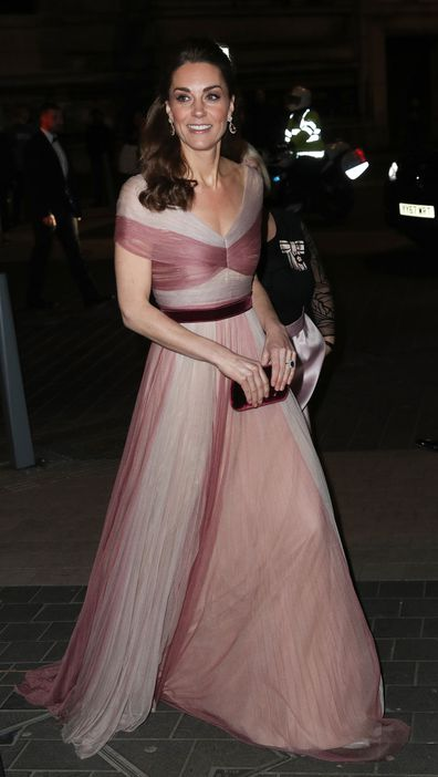patron of 100 Women in Finance's Philanthropic Initiatives, attends a Gala Dinner in aid of 'Mentally Healthy Schools' at the Victoria and Albert