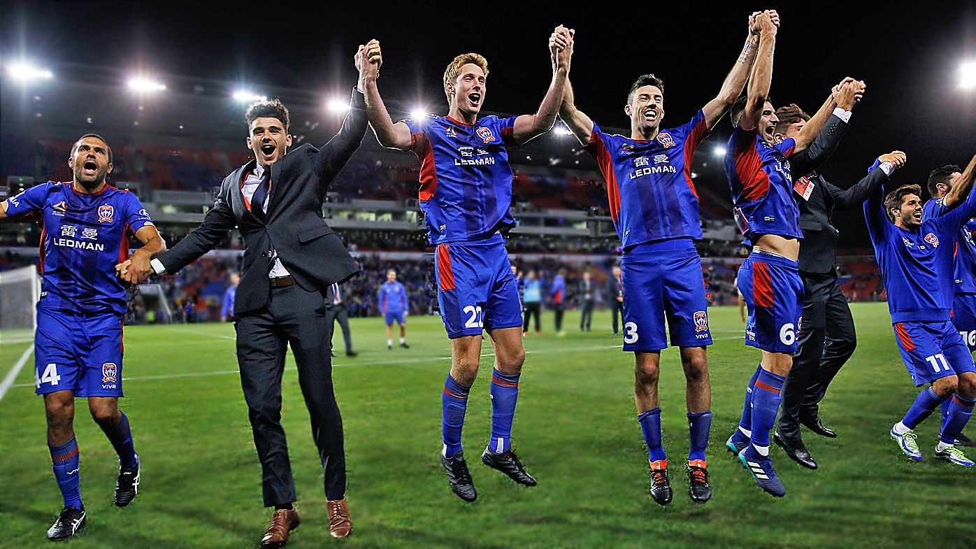 Newcastle Jets can make Aussie sporting history with A-League grand final victory