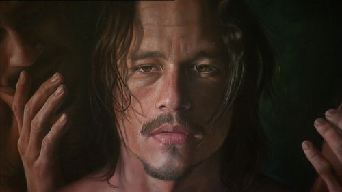 An exhibition celebrating Heath Ledger's life has opened in Canberra today. Image: Supplied