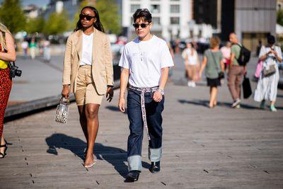 Street Style at Copenhagen Fashion Week 2018