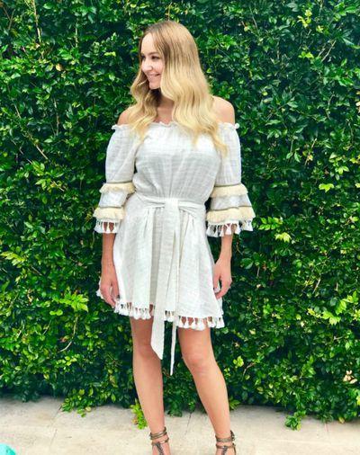 "<a href=""https://www.thestylecantina.com.au/product/zara-frills-dress/"" target=""_blank"" draggable=""false"">Style Cantina zara tassel dress</a>, $99.95"