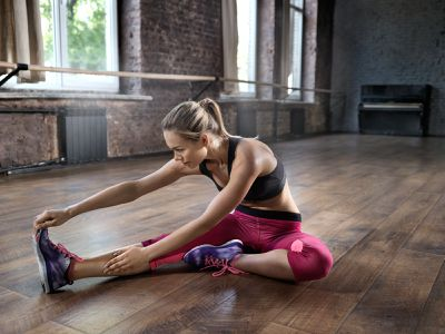 <strong>Hamstring stretch</strong>