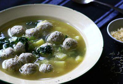 Tuesday: Italian chicken soup