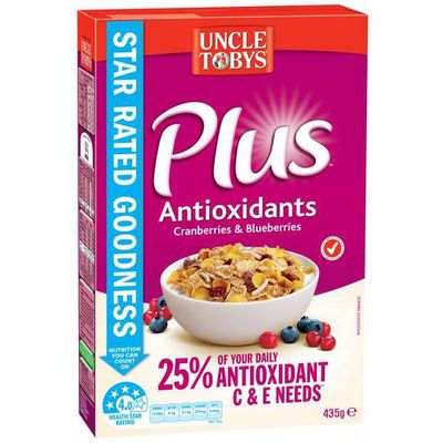 <strong>Uncle Tobys Plus (21.2 grams of sugar per 100 grams)</strong>
