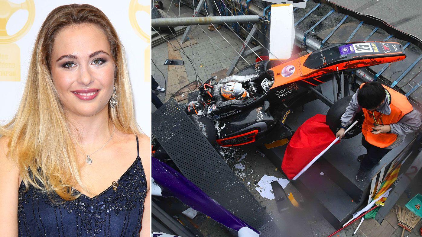 Sophia Floersch's surgery after horror Macau crash a success, says F3 team