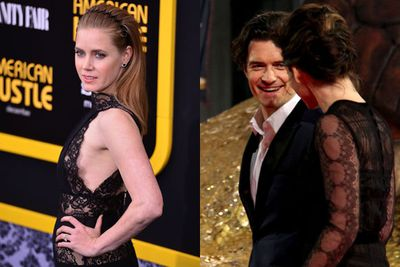 Check out all the action and fashion from this week's red carpet premieres of <i>American Hustle</i>, <i>The Hobbit: The Desolation of Smaug</i>, <i>Saving Mr Banks</i>, <i>Anchorman 2</i> and more!<br/><br/>Featuring <b>Orlando Bloom</b>, <b>Amy Adams</b>, <b>Julia Roberts</b> and the cast of <i>Anchorman</i>.<br/><br/>Stay tuned after the pics to watch the trailers...