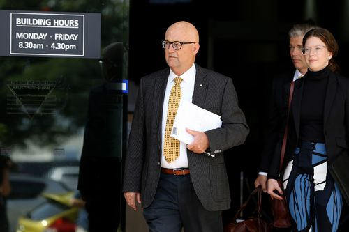 Leading Barrister Ralph Devlin, who is representing more than 20 Ardent Leisure employees at the inquest. Picture: AAP