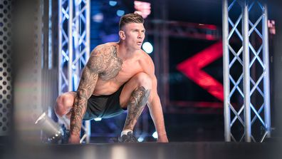 Nathan Ryles promised to propose to girlfriend Tori if he made it to the end of the course in heat two of season 3 on Australian Ninja Warrior 2019.