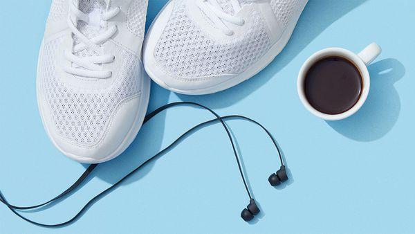 Caffeine during a workout