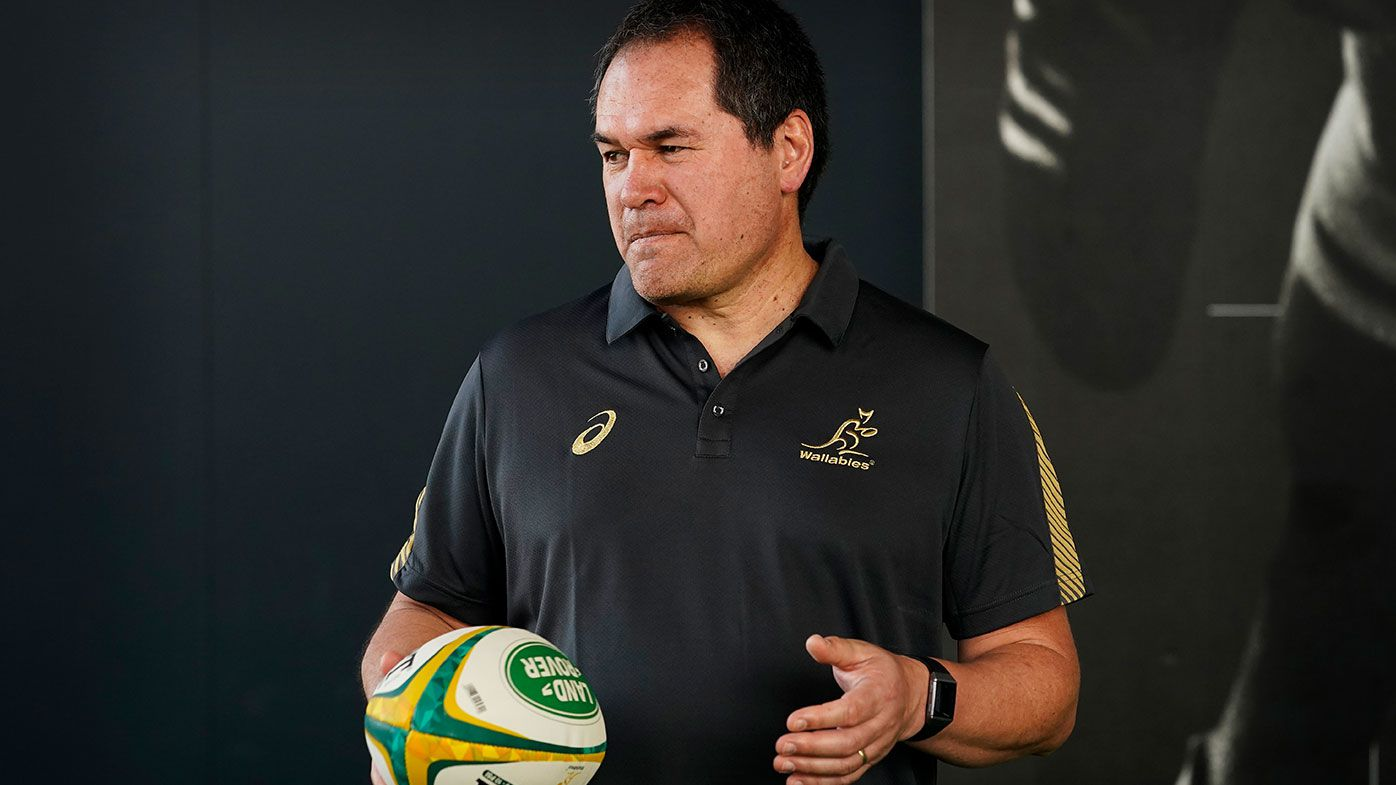 Wallabies coach Dave Rennie