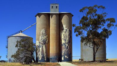 Silo art trail, Victoria