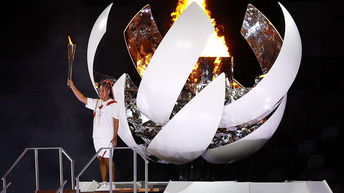 Tokyo Olympics 2021: Naomi Osaka's iconic 'haafu' moment in lighting Games flame