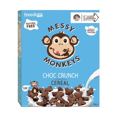 Messy Monkey's Choc Crunch Cereal