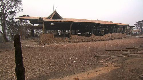 Buildings at the Selwyn Snow resort were destroyed by bushfires at the weekend.