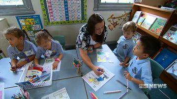 Thousands of youngsters start kindergarten