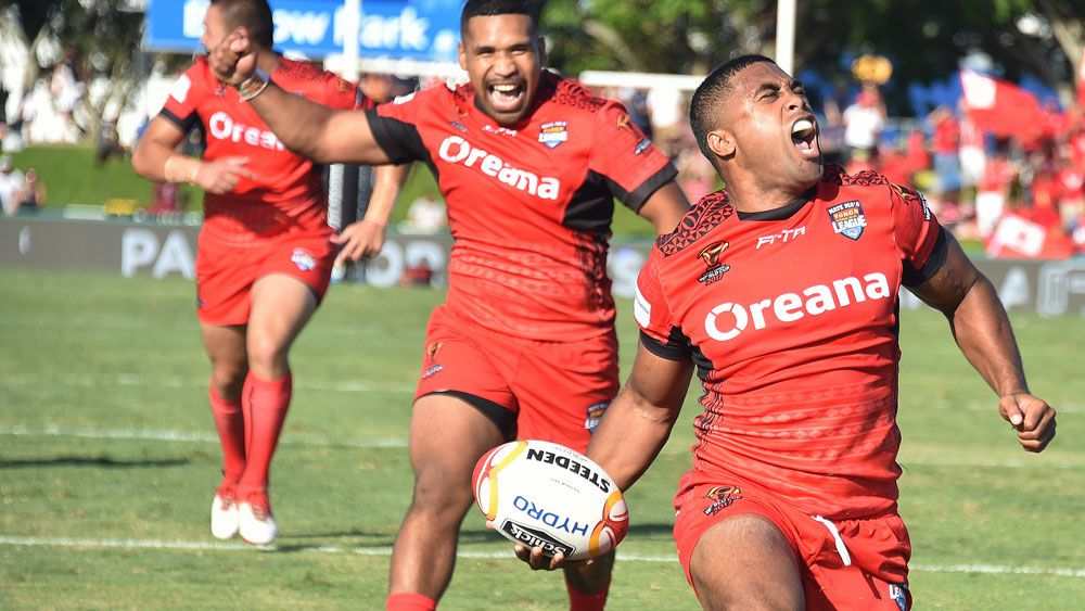 Tonga rout Scotland in Rugby League World Cup in Cairns