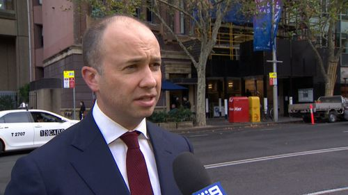Minister for Fair Trading Matt Kean said the fire is evidence that the crackdown is working. Picture: 9NEWS