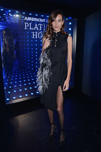 Alexa Chung attends the Alexa Chung London Fashion Week After Party.