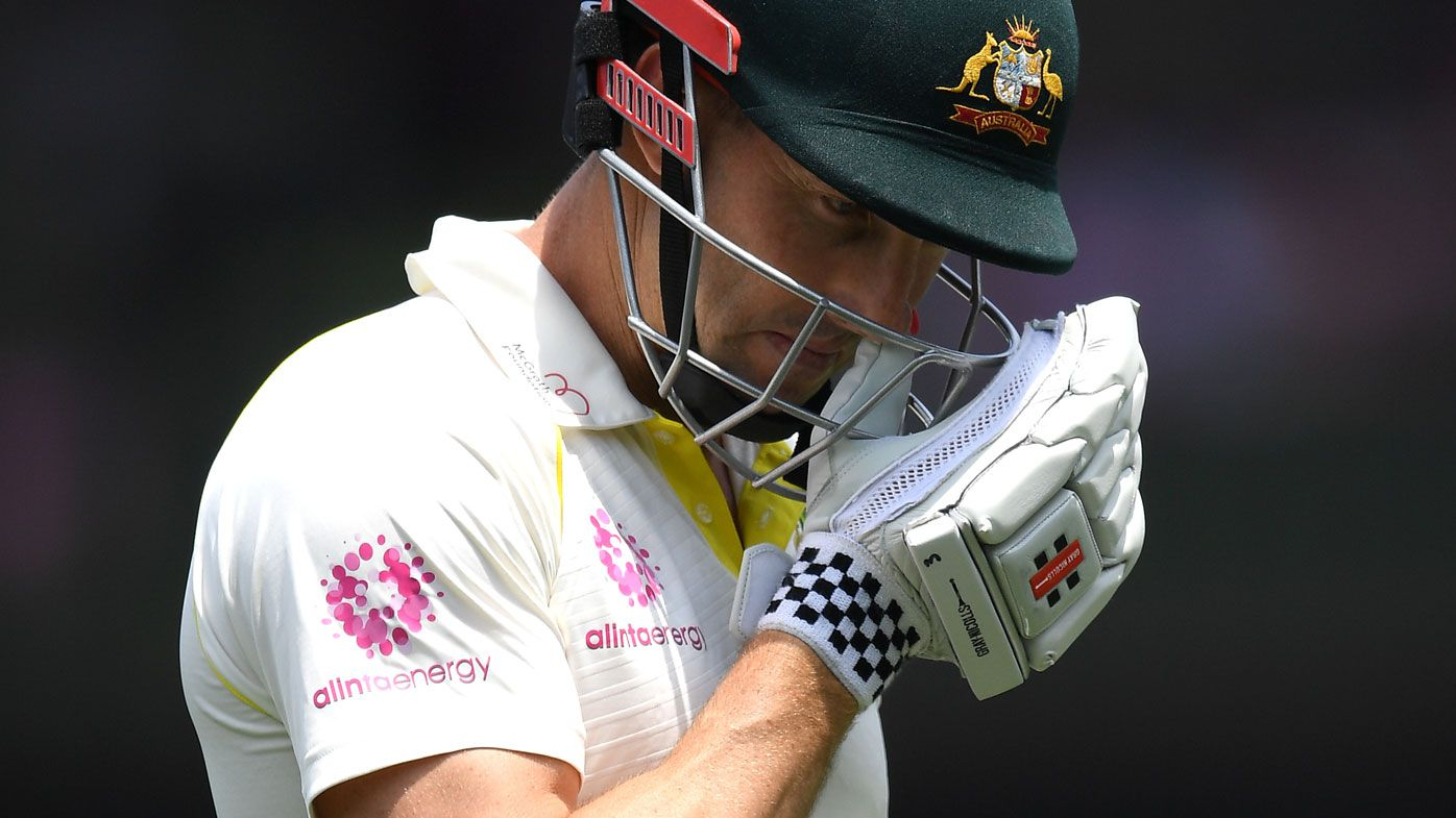 Batting collapse hampers Australia