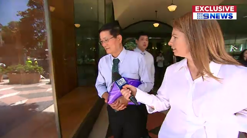 Dr Chen's lawyer claimed he forgot to change the online articles after laws changed in 2010.