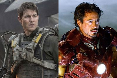 "Tom Cruise had his mitts on the <i>Iron Man</i> series since the '90s but hated the first script so much that he opted out. <br/><br/>""As it was lining up, it just didn't feel to me like it was gonna work,"" he said at the time.<br/><br/>Sorry Tom but Robert Downey Jr was born for the role of our fave smart-mouthed cheeky entrepreneur Tony Stark.<br/><br/>Left: Tom Cruise in <i>Edge of Tomorrow</i> / Warner Bros. Right: Robert Downey Jr as Iron Man / Marvel.<br/><br/><b>Keep scrolling to check out some behind-the-scenes footage form the set of <i>Batman v Superman: Dawn of Justice</i>...</b><br/>"