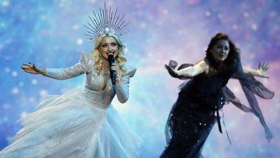 Kate Miller-Heidke at Eurovision.