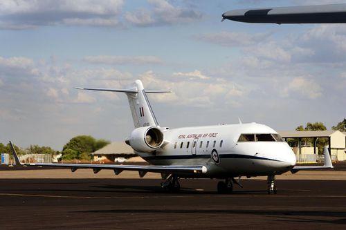 CL604 Challenger aircraft