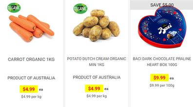 You can secure same day or next day deliveries from most Harris Farm Market stores.