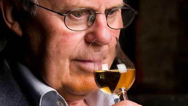 Man smelling whisky (The Balvenie)