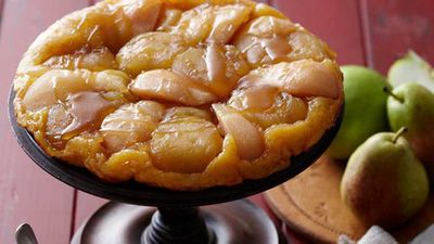 "Recipe:&nbsp;<a href=""http://kitchen.nine.com.au/2016/05/16/16/05/apple-and-pear-tarte-tatin"" target=""_top"">Apple and pear tarte tatin</a>"
