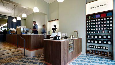 Market Lane Coffee Collins Street, Melbourne VIC - nominated for best cafe design