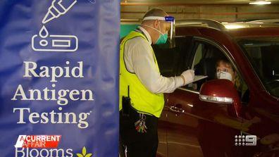 Australia's first rapid antigen drive through clinics for retail.