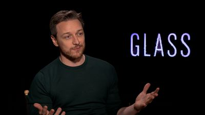 How James McAvoy survived playing 24 different characters in 'Glass': 'Even standing still, you're knackered'
