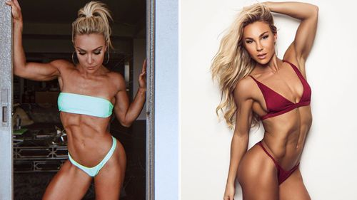 Hattie Boydle, pro fitness model and the WBFF 2016 world champion.