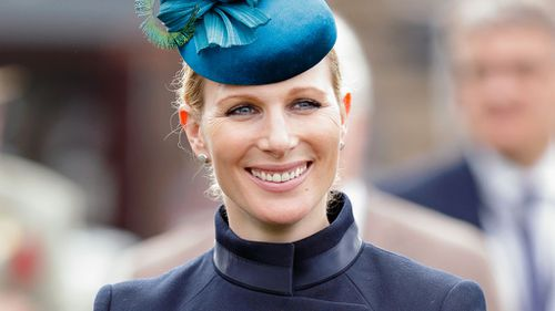 The Queen's grand-daughter, Zara Tindall, is expecting baby number two with husband Mike Tindall. (Getty)