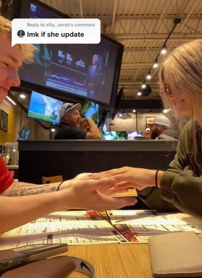 In her most recent video we see the pair out on a date.