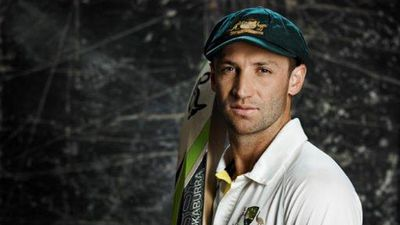 Hughes made 75 in the second innings of his 2009 Test debut in South Africa. (9NEWS)