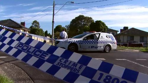 Six casings were found on the scene. (9NEWS)