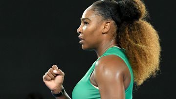 Serena Williams at Australia Open