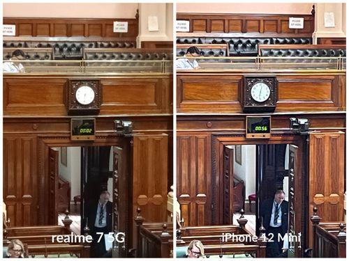 realme 7 5G camera quality comparisons.