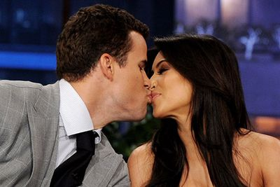 Kim Kardashian and Kris Humphries<br />