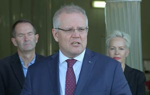 Coronavirus: Scott Morrison cuts Queensland trip short to deal with escalating Victorian aged care outbreak