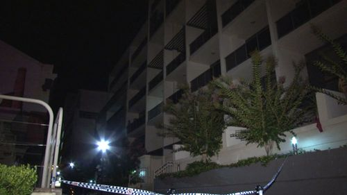 Residents in the street were evacuated just before midnight. (9NEWS)