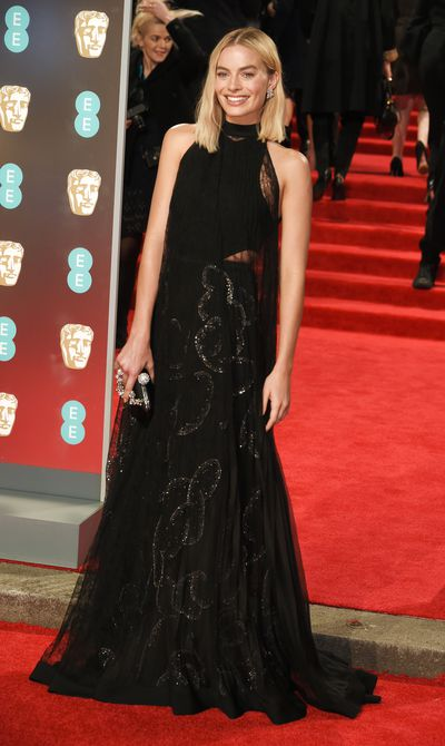 <p>Margot Robbie leads the way in the style stakes at the 71st BAFTA film awards in London.</p> <p>It was another black-out on the red carpet with the stars donning black to honour the Time's Up movement. Robbie nailed the dress code inGivenchy, while Jennifer LawrenceJennifer stunned in Dior, fresh off the runway from theirSpring 2018 show.</p> <p>Meanwhile, Dutchess of Cambridge, Kate Middleton, defied the all-black dress code wearing an olive green dress with a black ribbon by her go-to designer, Jenny Packham.</p> <p>Click through to check out all the highlights from the red carpet.</p> <p></p>