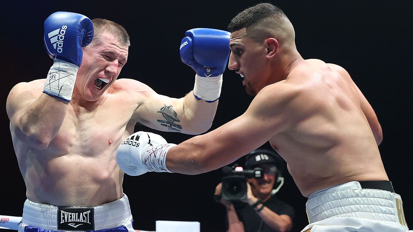 'He broke my rib': Paul Gallen's fight revelation rocks $1.1m Justis Huni slugfest